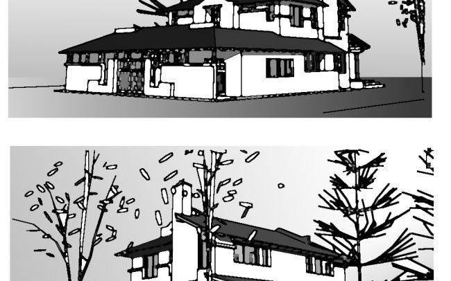 Casa en Pacheco - Croquis